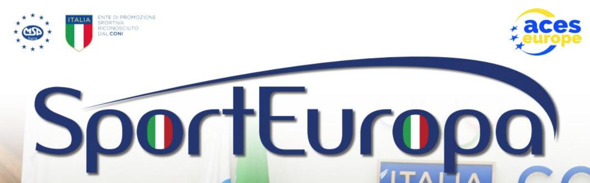 Sport Europa – Luglio 2019